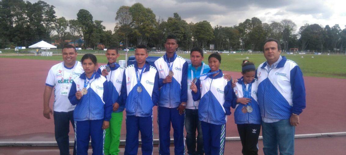Córdoba arrasó en atletismo adaptado de los Juegos Supérate
