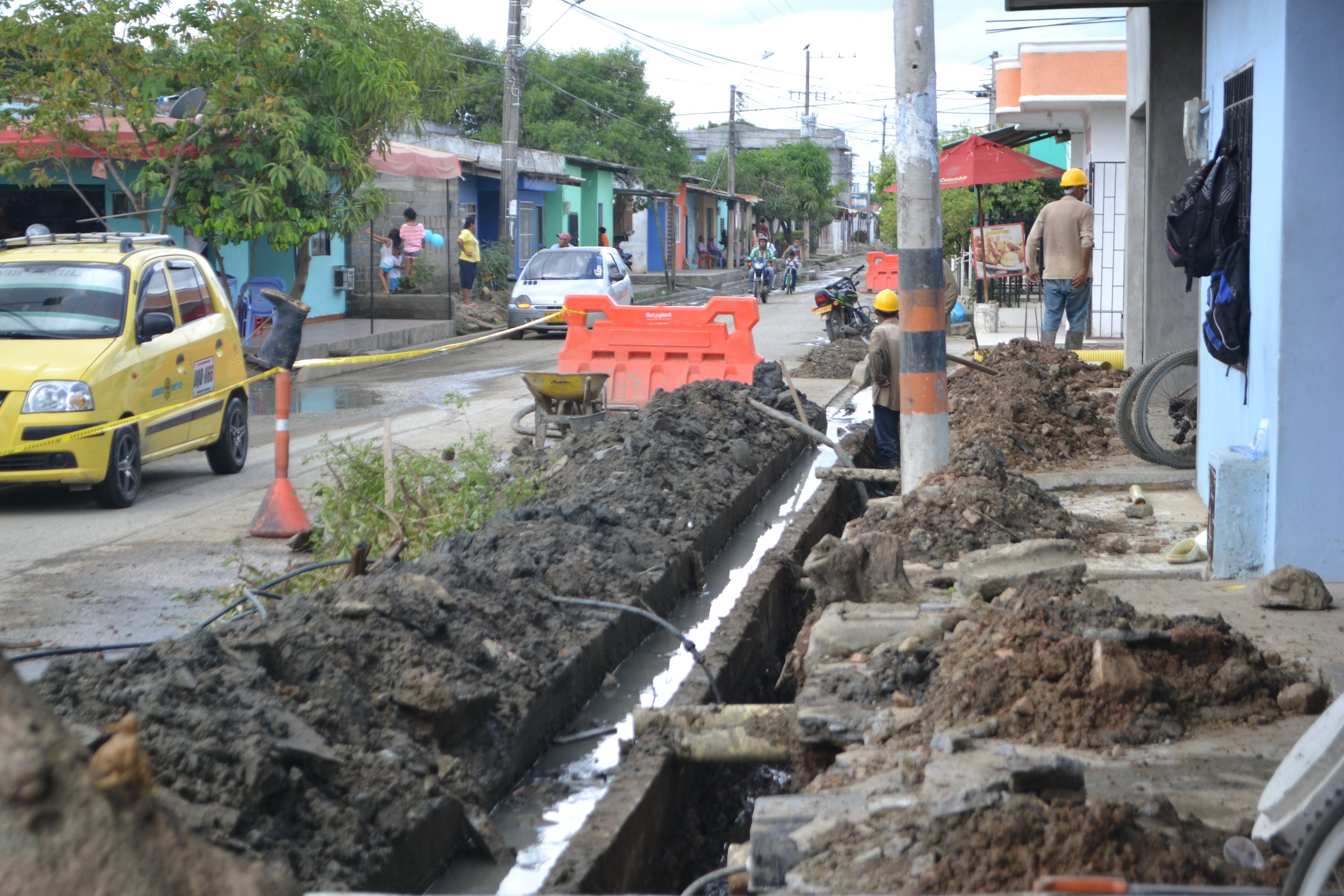 Obras de alcantarillado en El Dorado mejorarán la situación de sus habitantes
