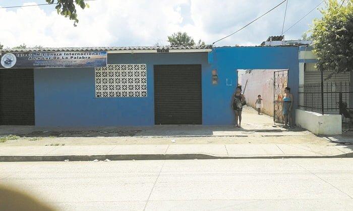 Casa Comunal en Líos