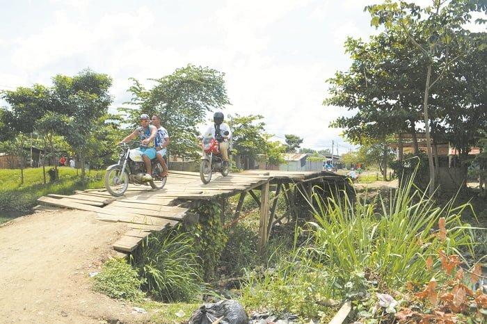 Puentes de Madera están que colapsan