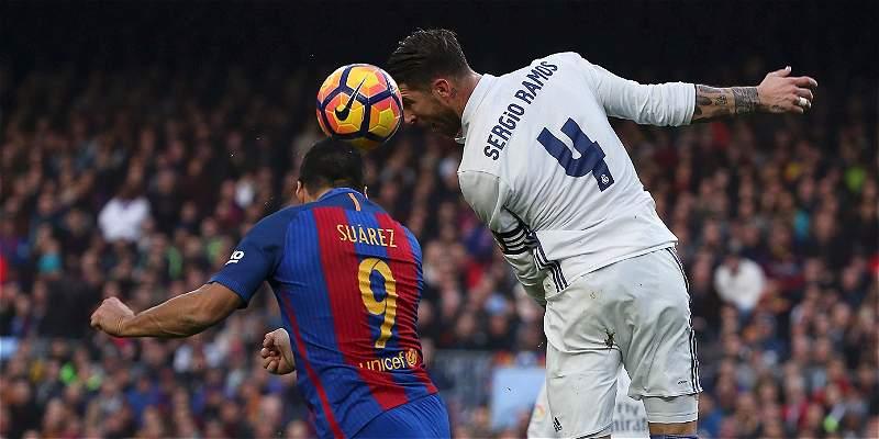 Barcelona y Madrid empatan el clásico en el Camp Nou