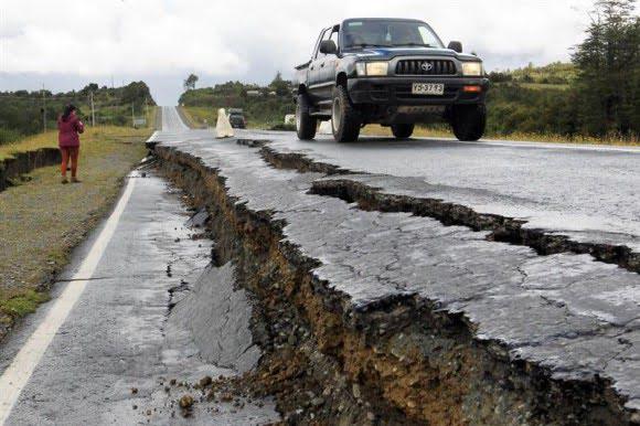 Terremoto en el sur de Chile el día de navidad