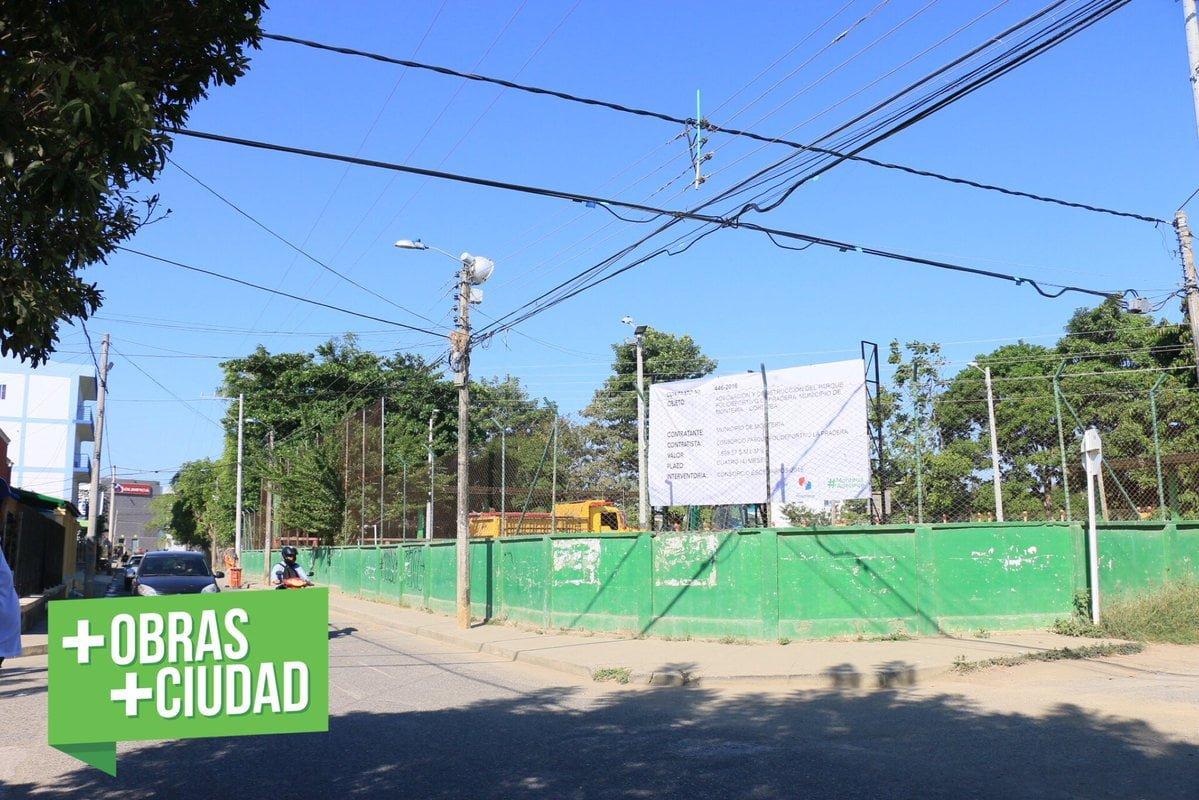 Comenzó la transformación del Polideportivo de La Pradera
