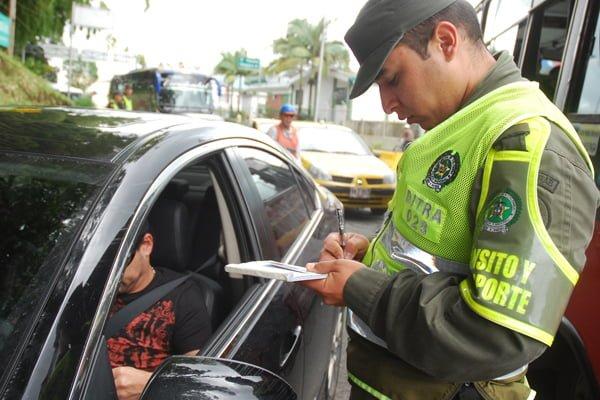 Así quedan las multas de tránsito para 2017