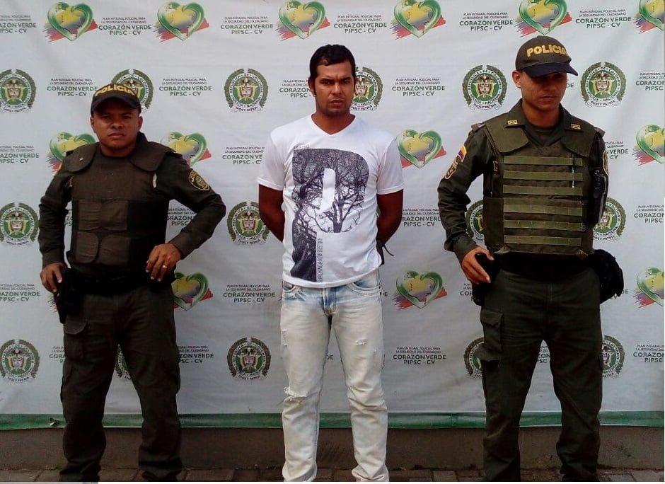 """Capturan en Montelíbano a alias """"La Rata o Ratón"""" jefe financiero del """"Clan del golfo"""""""