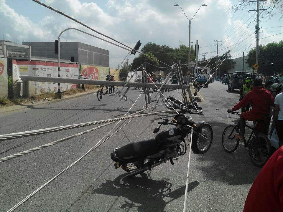 Estos son los heridos del choque múltiple en Cantaclaro