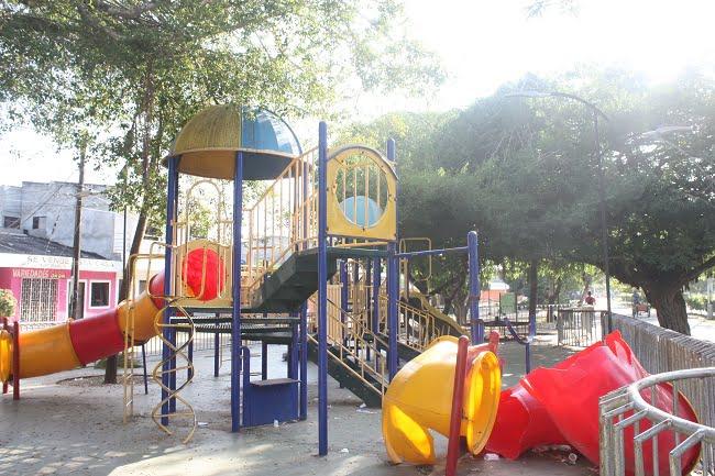 Parque de Las Golondrinas se deteriora