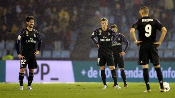 Real Madrid quedó eliminado de la Copa del Rey