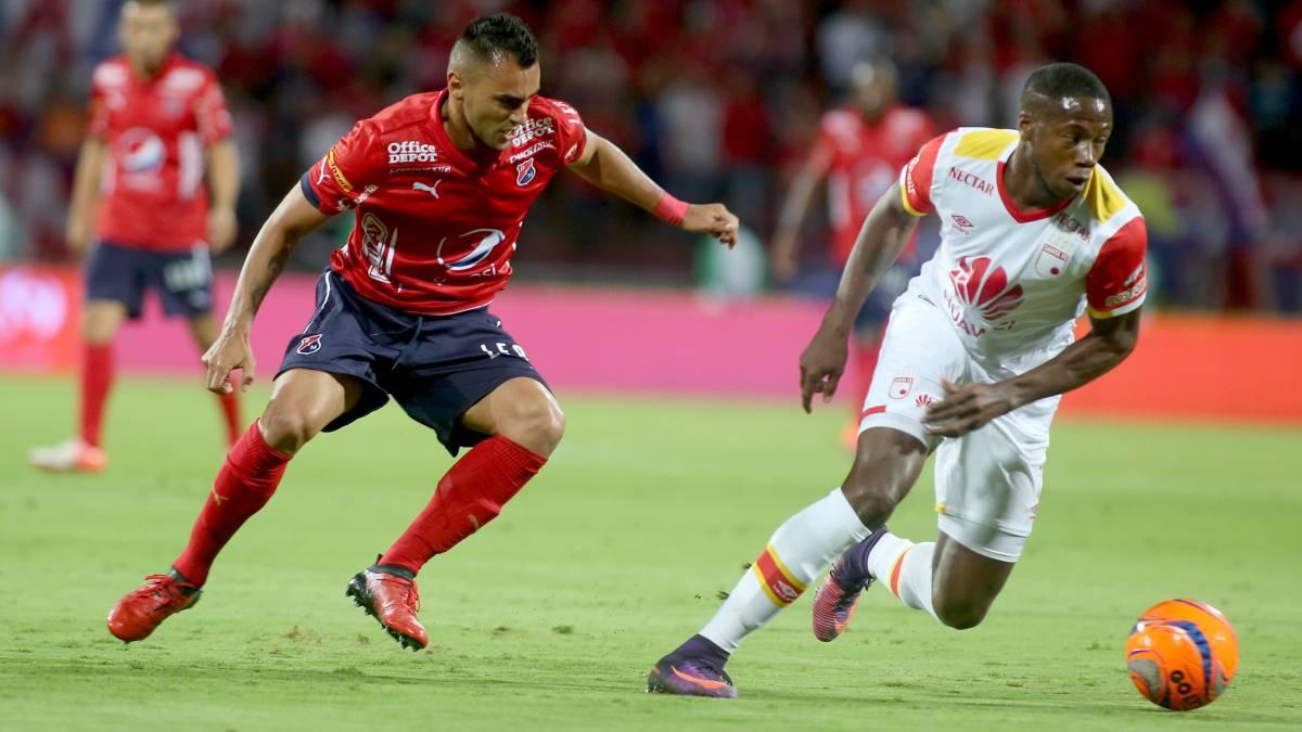 Medellín y Santa Fe empataron en primer partido de la Superliga