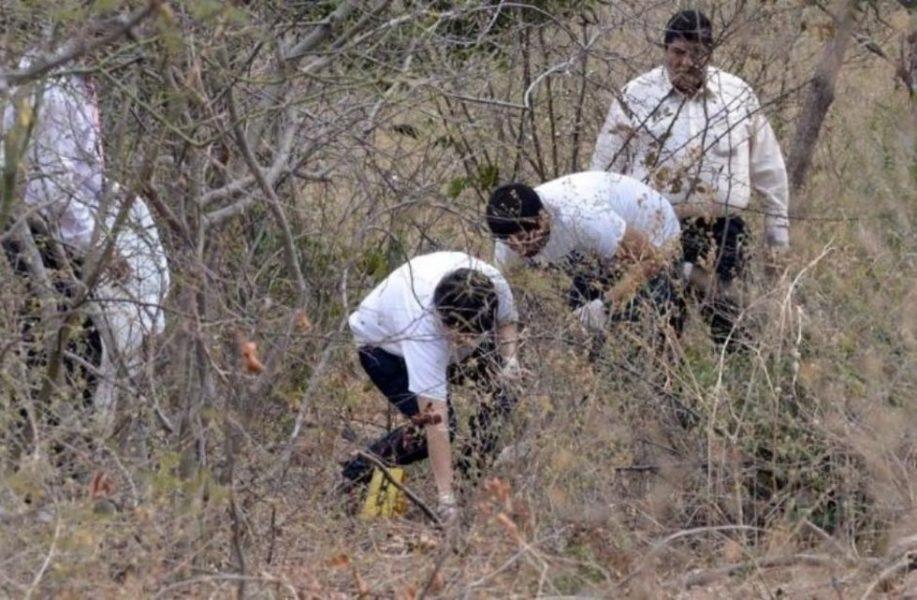 En fosa clandestina en México hallan 56 restos de personas