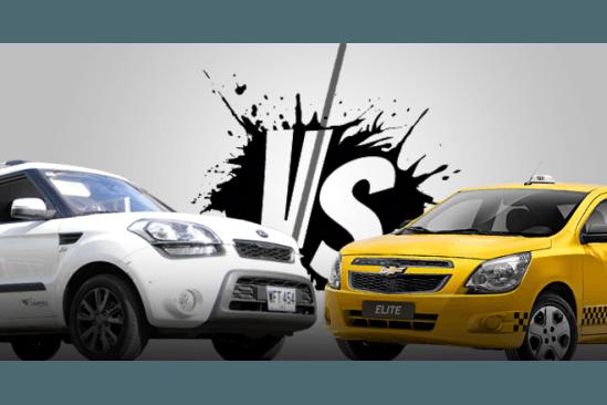 Taxistas agreden a concejal de Turbaco, lo confundieron con Uber