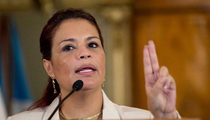 Exvicepresidenta de Guatemala acusada de conspirar para el narcotráfico