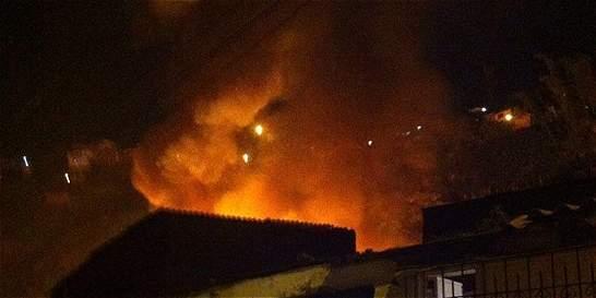 Una conflagración en la Subestación Montería fue lo que produjo el apagón en la ciudad
