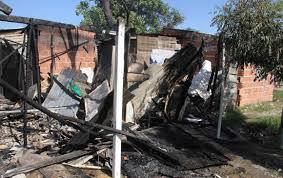 Un incendio provocó la muerte de 5 niños en Bolivar