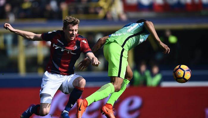 Murillo salió lesionado en el triunfo del Inter sobre Bologna