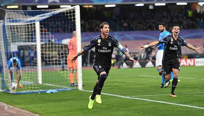 Con un 3-1 y sin James en la cancha Real Madrid pasa a cuartos