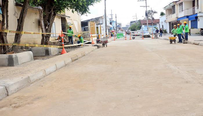 Habilitan calles de Montería