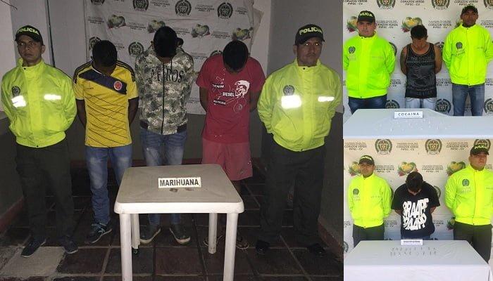 Por tráfico de estupefacientes en Córdoba capturan a cinco personas