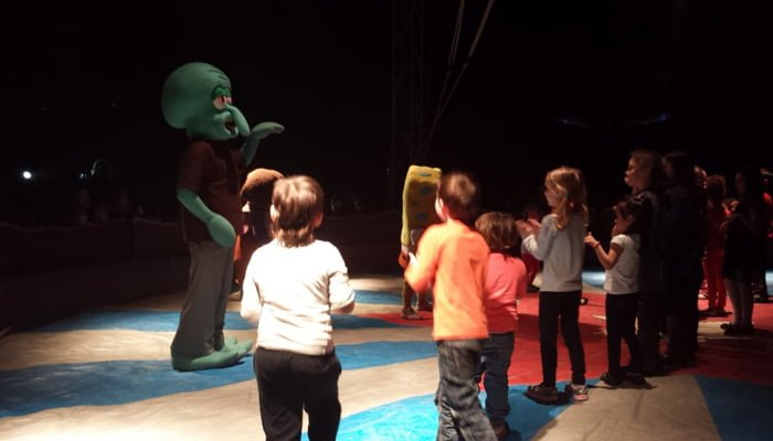 Tarde de circo en el Liceo León de Greiff