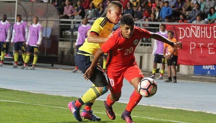 En el hexagonal del Sudamericano Sub-17 Colombia perdió 1-0 ante Chile