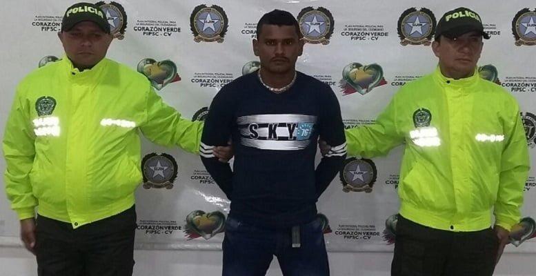 """Capturan a """"El negro correa"""" presunto integrante del Clan del Golfo"""