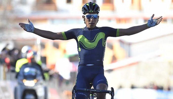Nairo Quintana se impone en la Tirreno Adriático y es líder de la clasificación general