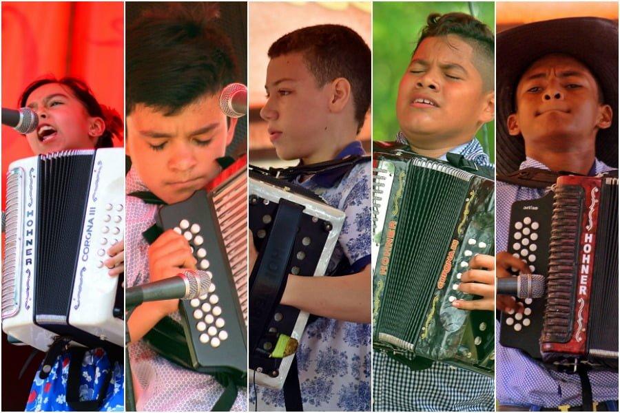 Se conocieron los nuevos reyes de la categoría infantil de 46 Festival de la Leyenda Vallenata