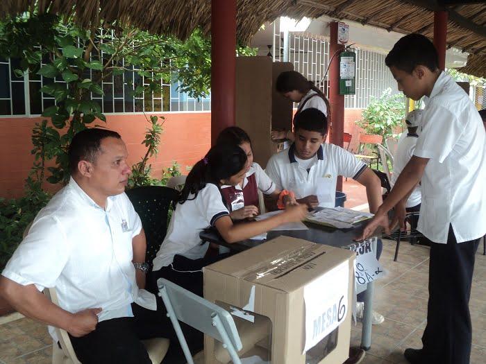 Elegido personero estudiantil