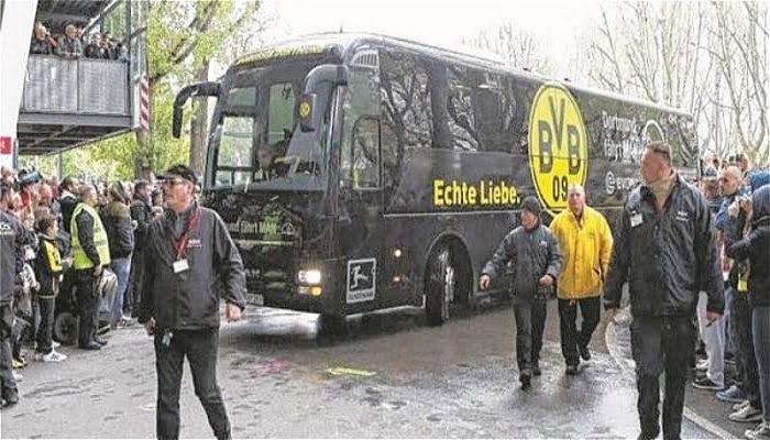 Cancelado el partido Borussia Dortmund vs Mónaco por una explosión