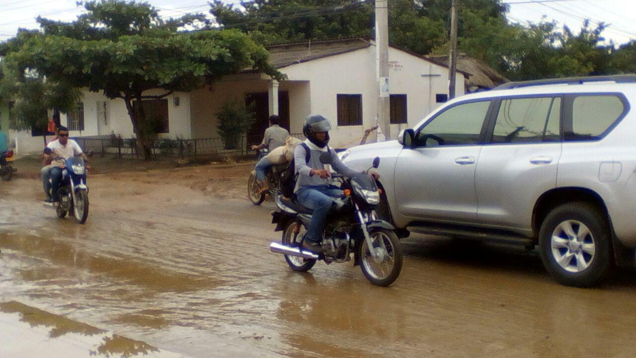 Obras inconclusas afectan movilidad en Cereté