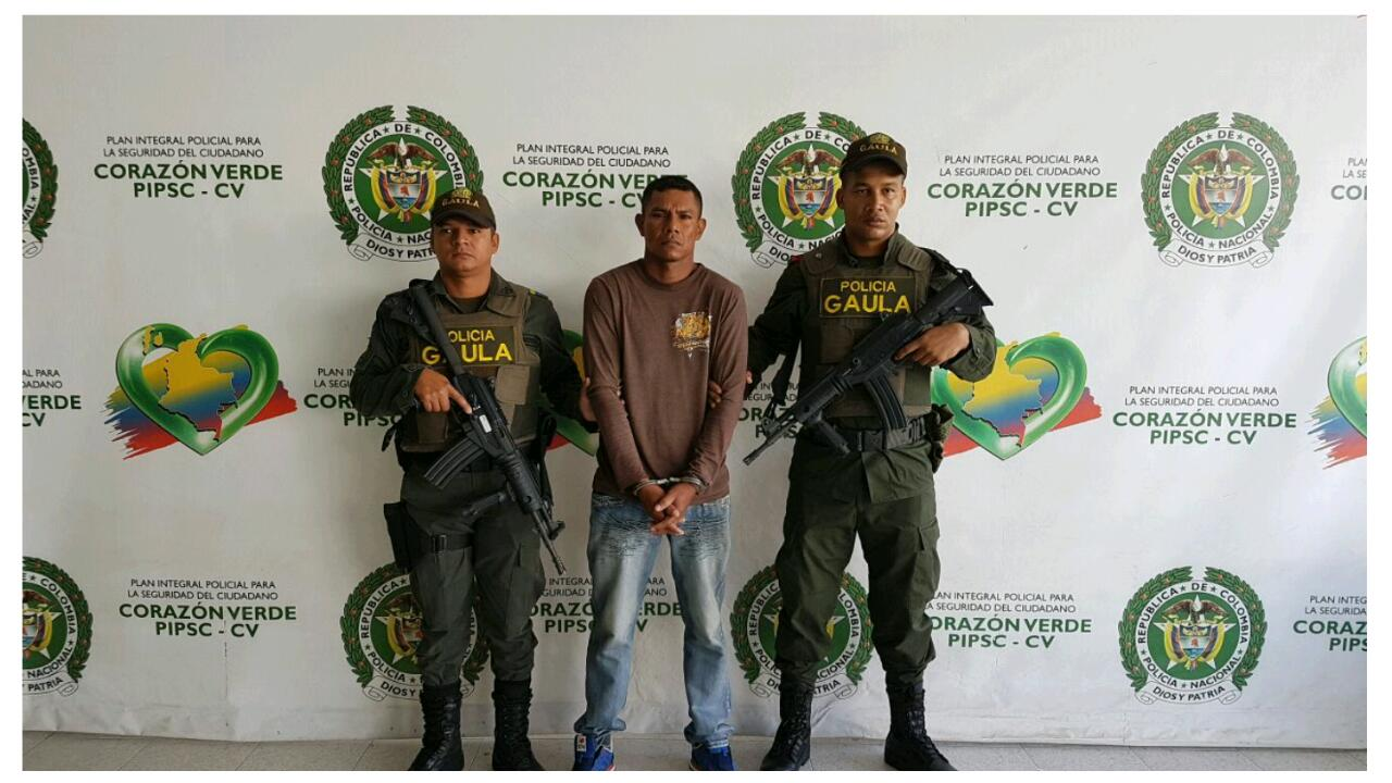 Capturan en Montería a alías «Venao», presunto integrante del Clan del Golfo