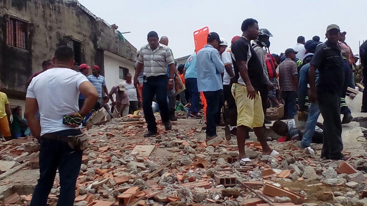 Ya son 10 los muertos por el desplome de edificio en Cartagena