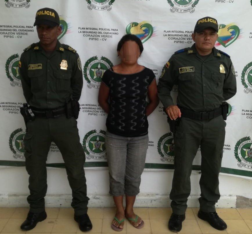 Intolerancia en Planeta Rica: Capturan a una mujer por agredir a joven en estado de embarazo