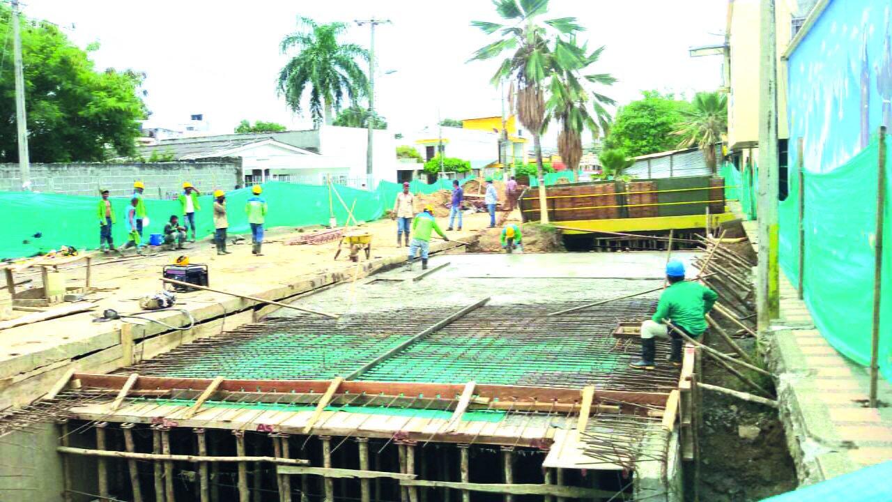 Se reinician obras en el Canal las Clarisas