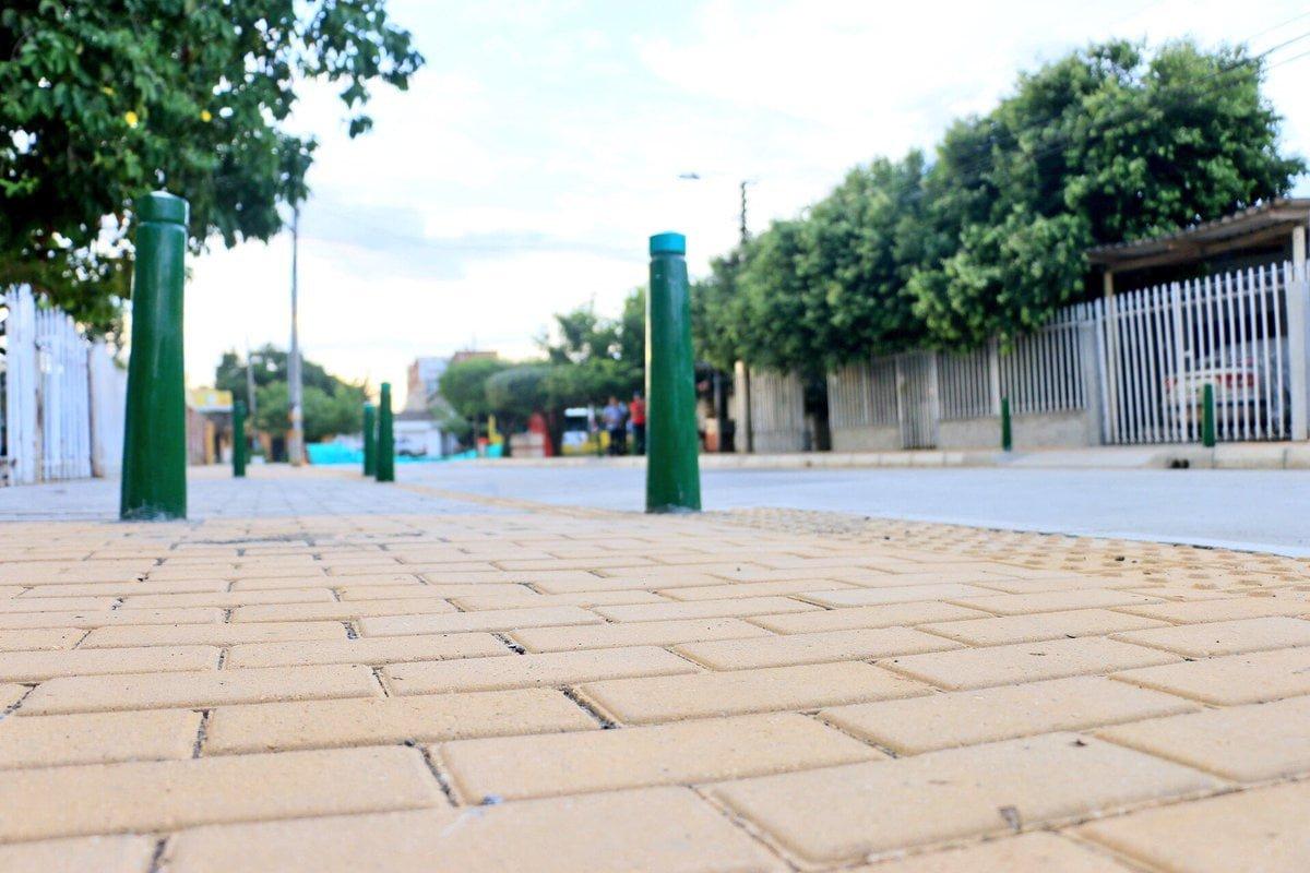 Inauguran tramo vial del barrio Los Laureles, en Montería