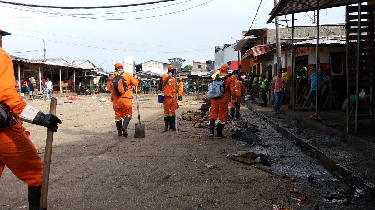 Jornada de limpieza en Mercasur