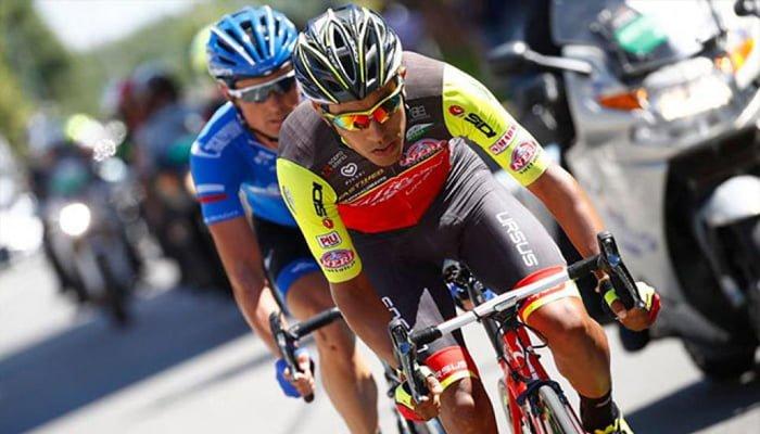 El Colombiano Daniel Martínez se retiró del Giro de Italia