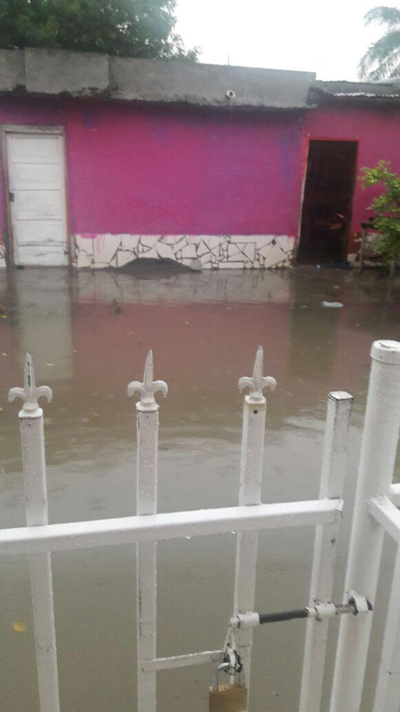 Familias afectadas por inundaciones en Montería
