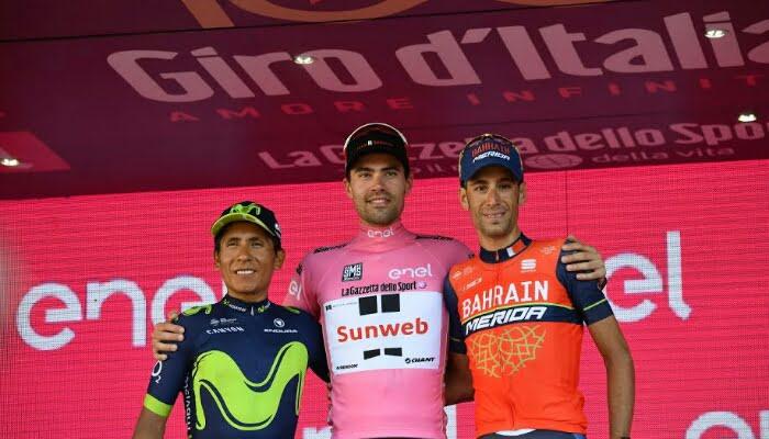 Nairo Quintana no pudo ser campeón de nuevo del Giro de Italia
