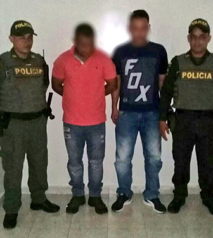 En flagrancia fueron capturados presuntos ladrones de un cajero en Montería