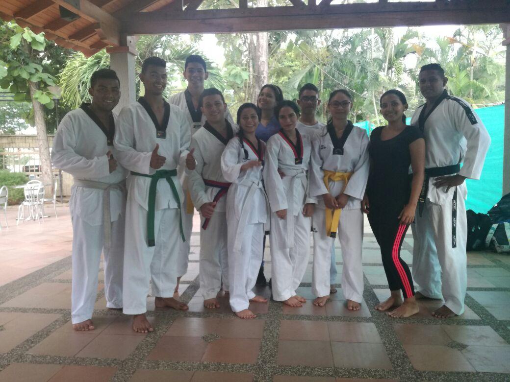 Campeonato de artes marciales en Cereté