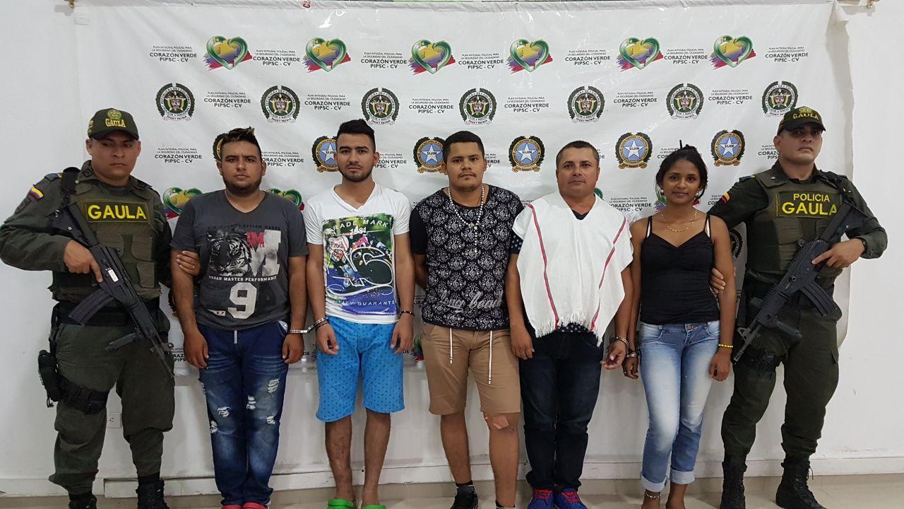 """Siguen las capturas de integrantes del """"Clan del Golfo"""" en Montería"""