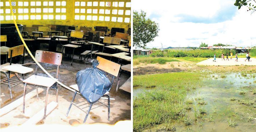 Instituciones Educativas inundadas