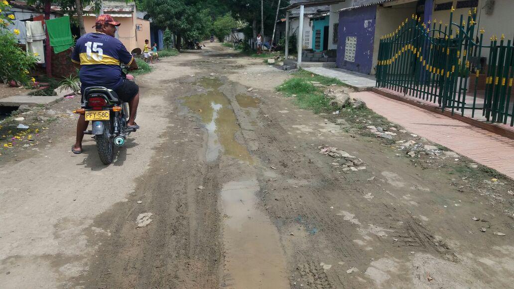 Necesitamos urgente el arreglo de las calles