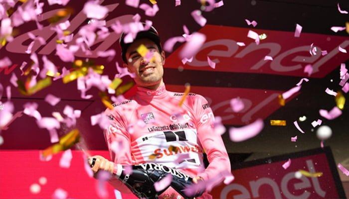 Tom Dumoulin gana la décima etapa del Giro y se viste de rosa
