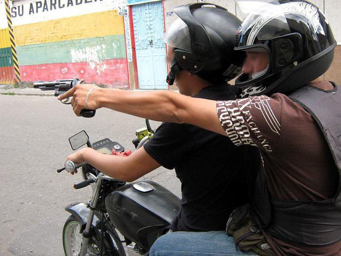 Policía atracado en el sector del Camajón en Montería