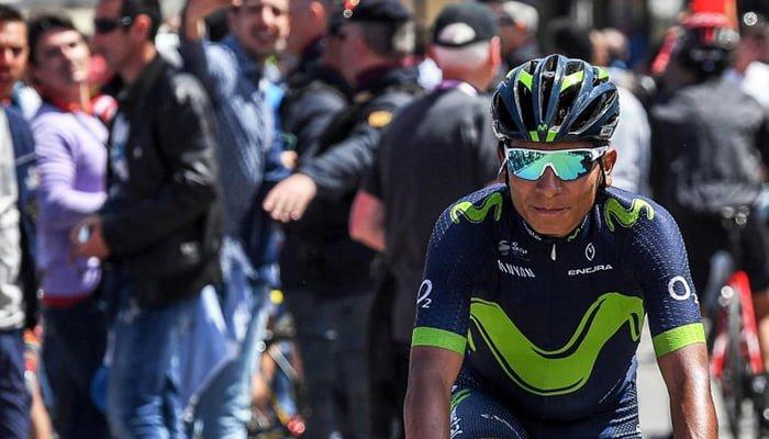 Nairo recuperó la posición seis tras la sexta etapa del Giro de Italia