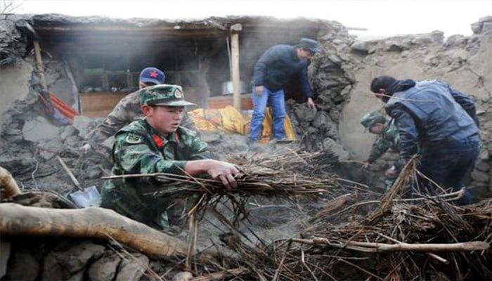 Al menos 8 muertos y 23 heridos deja terremoto en China