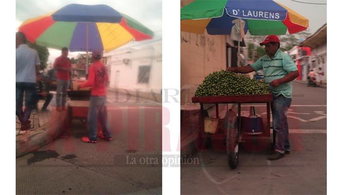 Vendedores ambulantes se apoderan de las calles de Montería