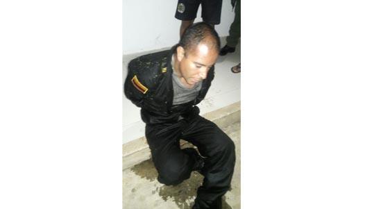 Falso policía fue enviado a la cárcel las Mercedes
